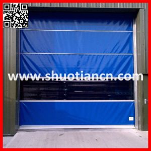 Interior and Exterior Plastic High Speed Roll up Door (ST-001) pictures & photos