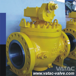 Stainless Steel Ss304/Ss316 Full Bore RF Flanged Top Entried Ball Valve pictures & photos