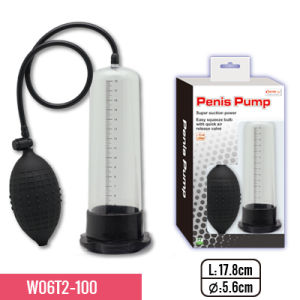 TPE Sleeve Penis Pump Enlargement with Strong Suction for Male pictures & photos