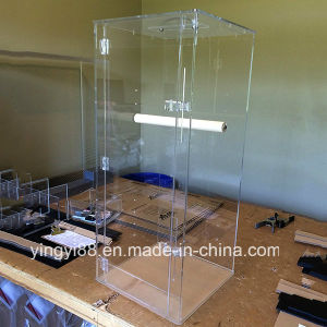 High Quality Acrylic Pet Carrier for Large Bird pictures & photos