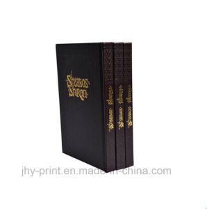 Gloden Foil Hardcover Book Printing Service (jhy-397) pictures & photos