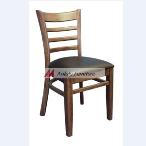Modern Wooden Restaurant Dining Chair / Wood Chair (ALL-1001c)