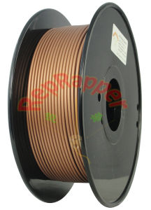 Well Coiling 3.0mm Copper PLA 3D Printing Filament pictures & photos