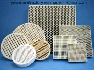 65% Al2O3 Mullite Honeycomb Ceramic Heat Exchanger