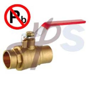 Low Lead Brass Solder Ball Valve pictures & photos