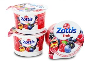 Good Quality Products Automatic Plastic Yogurt Cup Sealer pictures & photos