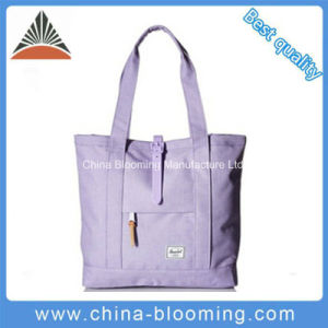 Hasp Closure Fashion Women Tote Bag Blue Lady Handbag pictures & photos