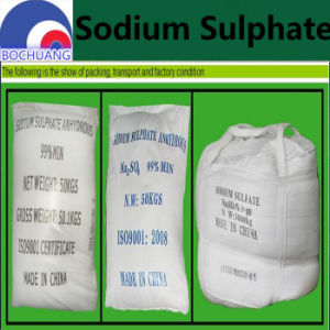Supply 7757-82-6 Anhydrous Sodium Sulfate pictures & photos