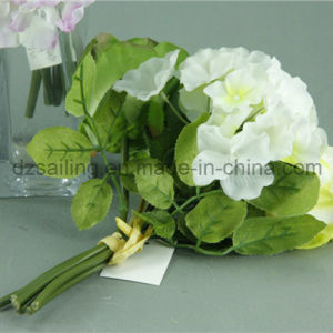 Hot Selling Artificial Rose and Hydrangea Bouquet Flower for Wedding (SF12512C) pictures & photos
