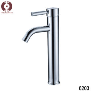Sanitary Ware Hardware Copper Bathroom Basin Faucet (6203) pictures & photos