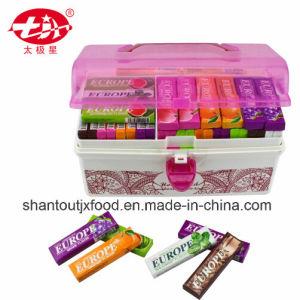 Red Rectangular Plastic Storage Box Chewing Gum pictures & photos