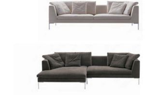 Italy Big L Shape Fabric Sofa for House Use (SF026) pictures & photos