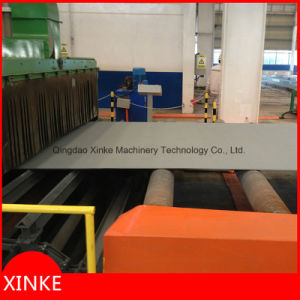 Steel Plate Roller Conveyor Type Wheel Blast Machine Q698 pictures & photos