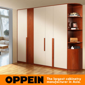 Guangzhou Manufacturer High Quality Classic Melamine Wooden Bedroom Wardrobe (YG11541) pictures & photos