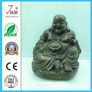 Polyresin Chinese Religion Figurine Maitreya Buddha Statue pictures & photos