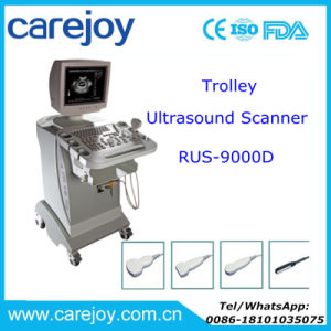 Carejoy Trolley Ultrasound Machine Mobile Ultrasound Scanner Price with CE ISO Certified -Maggie pictures & photos