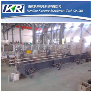 Tse-50 PBT. MDPE Plastic Compounding Twin Screw Extruder Pelletizing Line pictures & photos