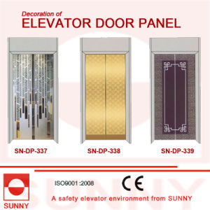 Hiarline Stainless Steel Door Panel for Elevator Cabin Decoration (SN-DP-337) pictures & photos