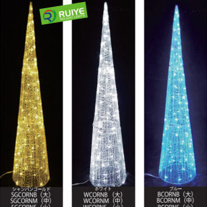 LED Cone Motif Light Outdoor Christmas Tree Decoration pictures & photos