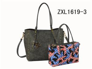 Custom PU Elegance Designer Women Handbag Fashion Bags Ladies Handbags (ZXL1619-3) pictures & photos