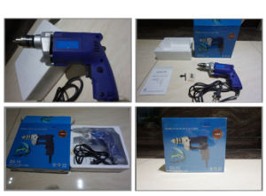 Powertec 300W Hand ED10A 10mm Electric Drill (PT82009) pictures & photos
