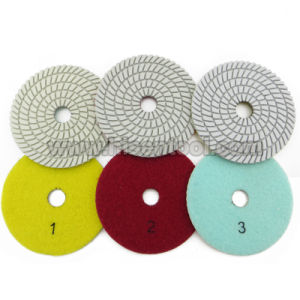 3 Steps Dry Polishing Pads for Stone pictures & photos