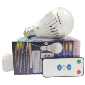 E27/B22 Rechargeable LED Bulb with Remote Controller pictures & photos