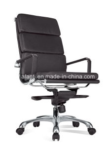 Ergonomic Office Metal Leather Manager Chair (RFT-A04) pictures & photos