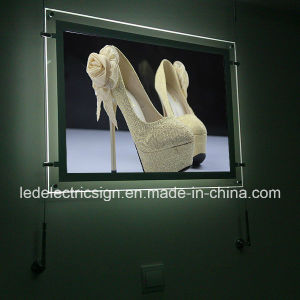 Wall Art Shoes Acrylic LED Light Box pictures & photos