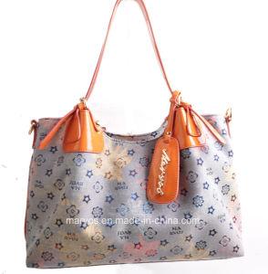 Discounted Leather Ladies′ Handbag (M10118) pictures & photos