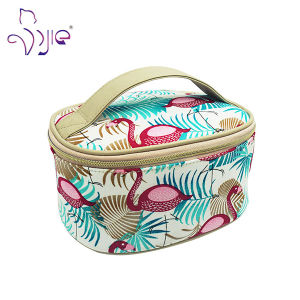 Novel Design Makeup Cosmetic Bag with Cotton for Women