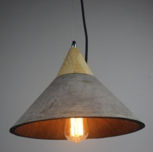 Modern Hanging Concrete Lamp (PC3009) pictures & photos