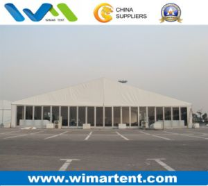25m Glass Wall/PVC Roof Top Fair Show Canopy Tents Event Tent pictures & photos
