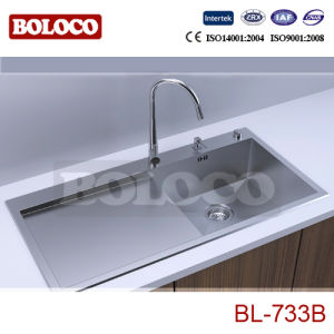 Hand Made Kitchen Sink (BL-733B) pictures & photos