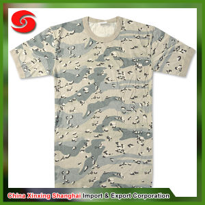 Military Camouflage Digital Army T-Shirt pictures & photos