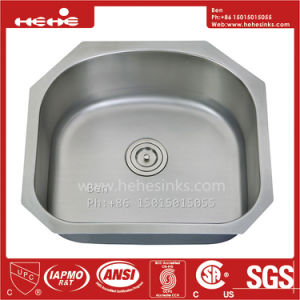 Kitchen Sink, Stainless Steel D Shape Under Mount Single Bowl Kitchen Sink pictures & photos