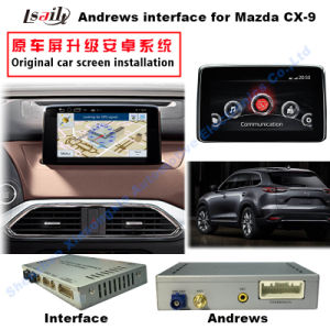 Car Android Interface Box for Mazda Cx-9 with Andrews Navigation Multimedia Video 3G WiFi pictures & photos