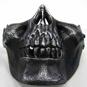 Airsoft Skull Skeleton Half Face Protector Airsoft Mask pictures & photos