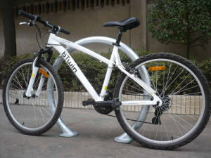 Galvanized Tunnel Bike Stand Rack pictures & photos