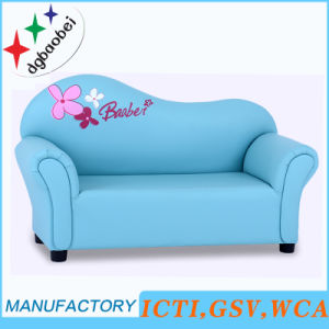 Curved Double Seat Children Sofa (SXBB-07-03) pictures & photos