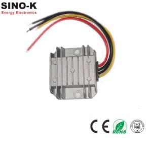 Waterproof DC-DC 24V to 12V 5A 60W Buck Power Converter pictures & photos