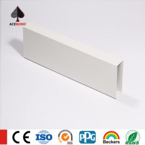White Color U-Shaped Baffle Ceiling pictures & photos