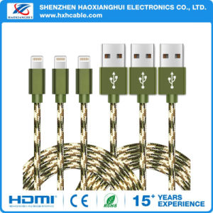 OEM Nylon Braided Mobile Phone Accessories for Lightning Cable pictures & photos