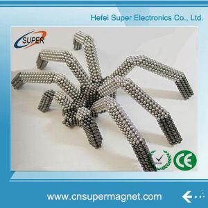 N42 Nickel 5mm Sphere Neodymium Magnet Ball pictures & photos