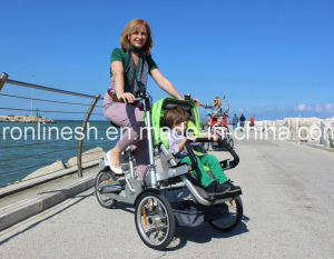 Folding Baby Bike Stroller/Mother and Baby Carrier Bike/Mom Baby Bicycle Stroller/Kids Pushcart/Kids Bike Stroller/Babie Delivery Stroller/Child Trike Stroller pictures & photos