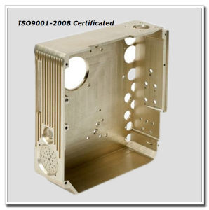 CNC Machining Brass Cover Parts pictures & photos