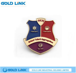 Customized Metal Badge School Emblem Police Lapel Crafts pictures & photos