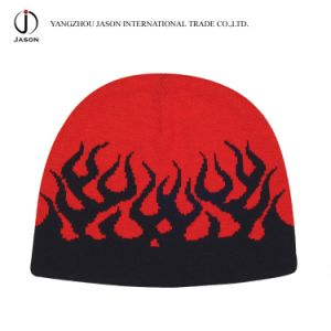 Winter Hat Jacquard Knitted Hat Jacquard Beanie Jacquard Toque Acrylic Knitted Hat pictures & photos