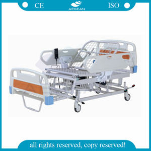 AG-Bm119 with Chair Function Three Positions Electric Hospital Patient Bed pictures & photos