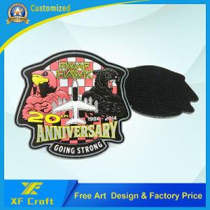 Professional Custom Country Military 3D PVC Patch Emblem for Souvenir (XF-PT07) pictures & photos